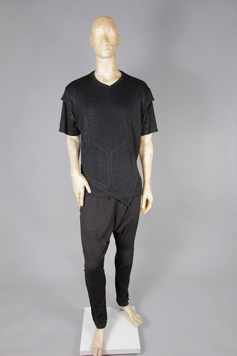 T-SHIRT BLACK URBAN